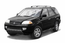 Стекло на Acura MDX_2000-2006