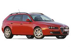 Стекло на Alfa Romeo 159 2005 - 2011 (Combi)