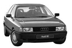 Стекло на Audi 80;90 1986 - 1995
