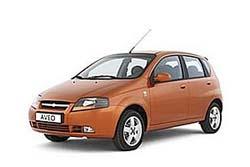 Стекло на Chevrolet Aveo 2002 - 2008