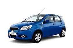 Стекло на Chevrolet Aveo 2006 - 2012