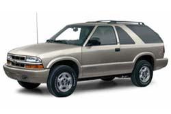 Стекло на Chevrolet Blazer S10 1995 - 2000