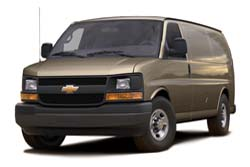 Стекло на Chevrolet Express 2003 -