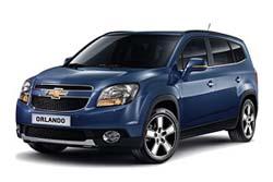 Стекло на Chevrolet Orlando 2010 -