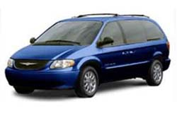 Стекло на Chrysler Town Country 1996 - 2002