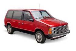 Стекло на Chrysler Voyager 1984 - 1995