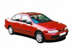 Стекло на Nissan Almera N15;Pulsar 1995 - 2000 Sedan