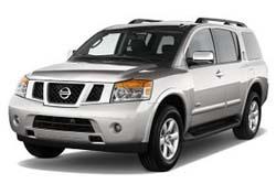 Стекло на Nissan Armada;Titan 2004 - SUV
