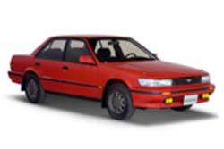 Стекло на Nissan Bluebird T12;Stanza 1986 - 1990 Sedan