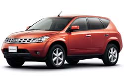 Стекло на Nissan Murano Z50 2003 - 2007