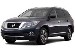Стекло на Nissan Pathfinder R52 2013 -