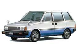 Стекло на Nissan Prairie M10 1982 - 1988