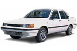 Стекло на Nissan Sunny B12;Sentra 1986 - 1990 Sedan