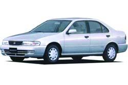 Стекло на Nissan Sunny B14;Sentra 1995 - 1999