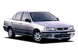 Стекло на Nissan Sunny B15;Sentra 2000 - 2006_3