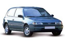Стекло на Nissan Sunny N14;Pulsar 1990 - 1995 Hatch