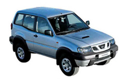 Стекло на Nissan Terrano R20;Mistral 1993 - 2006