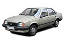 Стекло на Opel Ascona C  1981-1988 Sedan