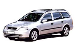 Стекло на Opel Astra G 1998 - 2008 Combi