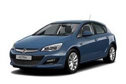 Стекло на Opel Astra J 2010 - Hatch