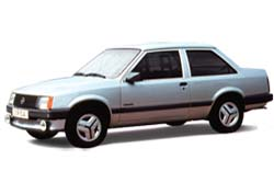 Стекло на Opel Corsa A 1982 - 1993 Sedan