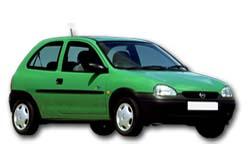 Стекло на Opel Corsa B 1993-2000 Hatch