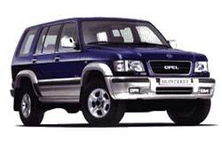 Стекло на Opel Monterey;Holden Jackaroo 1992 - 2002