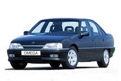Стекло на Opel Omega A 1986-1993 Sedan_1
