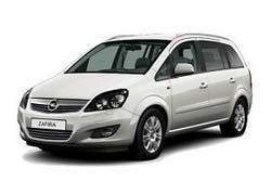 Стекло на Opel Zafira B 2005 - 2011