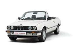 Стекло на BMW 3 (E30) 1982 - 1994 Cabrio