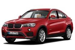 Стекло на BMW X4 2014 -