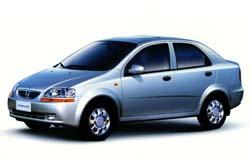 Стекло на Daewoo Kalos 2002 - 2008 (Sedan)