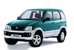 Стекло на Daihatsu Terios 1997 - 2006_2