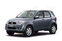 Стекло на Daihatsu Terios 2006-