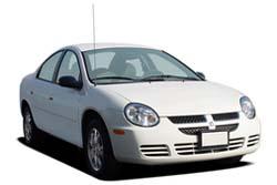 Стекло на Dodge Neon 2000 - 2005