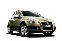 Стекло на Fiat Sedici 2006 -