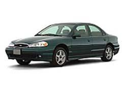 Стекло на Ford Contour (USA) 1995 - 2001_2