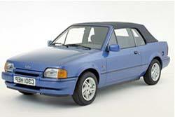 Стекло на Ford Escort 1980-1990 Cabrio