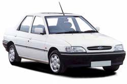 Стекло на Ford Escort 1991-1996 (Sedan)