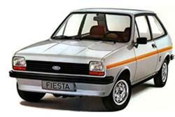 Стекло на Ford Fiesta 1976 - 1983