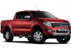 Стекло на Ford Ranger 2012-