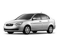 Стекло на Hyundai Accent 2005-2011 Sedan