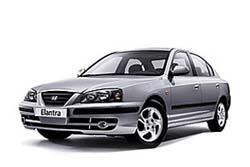 Стекло на Hyundai Elantra 2006 - 2010