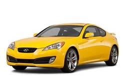 Стекло на Hyundai Genesis Coupe 2008 -
