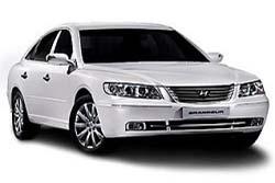 Стекло на Hyundai Grandeur TG 2006-2011