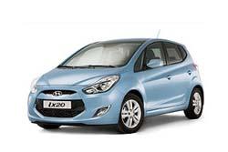 Стекло на Hyundai IX20 2010 -