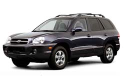 Стекло на Hyundai Santa FE 2000-2006