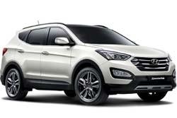 Стекло на Hyundai Santa FE 2013 -
