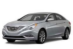 Стекло на Hyundai Sonata 2011-