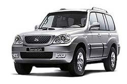 Стекло на Hyundai Terracan 2001-2007